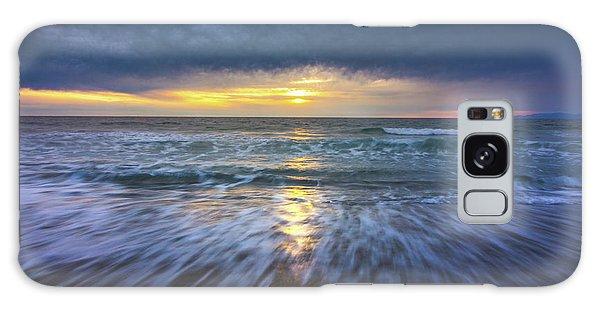 Redondo Beach Sunset Galaxy Case