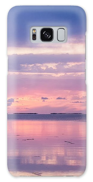 Reflections At Sunset In Key Largo Galaxy Case
