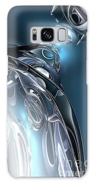 Reflections Of Blue Galaxy Case