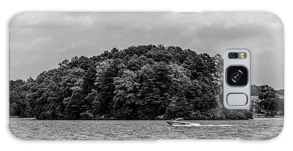 Relaxing On Lake Keowee In South Carolina Galaxy Case