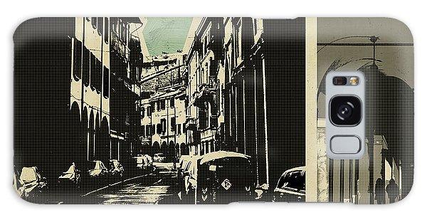 retro postcard of Bologna Galaxy Case