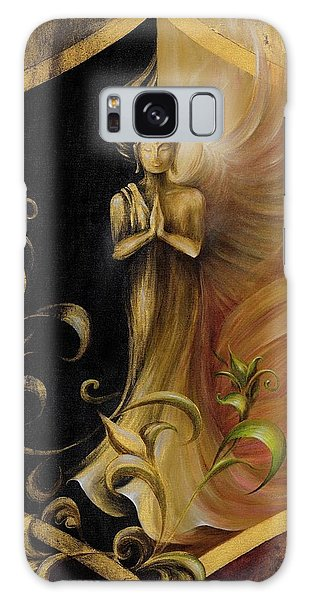 Revelation And Enlightenment Galaxy Case by Dina Dargo