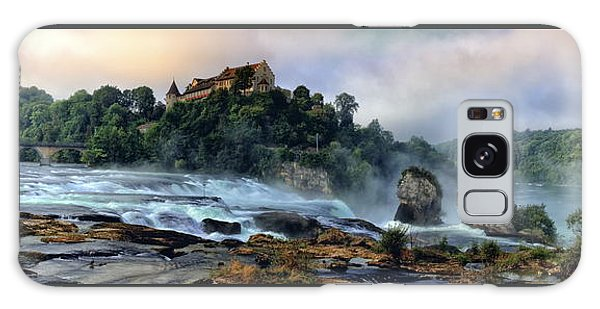 Rhinefalls, Switzerland Galaxy Case by Elenarts - Elena Duvernay photo