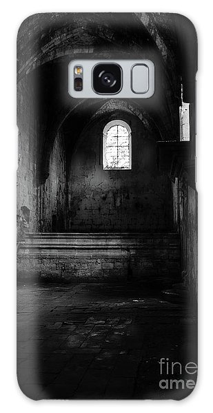 Rioseco Abandoned Abbey Nave Bw Galaxy Case by RicardMN Photography