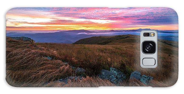 Roan Mountain Sunrise Galaxy Case
