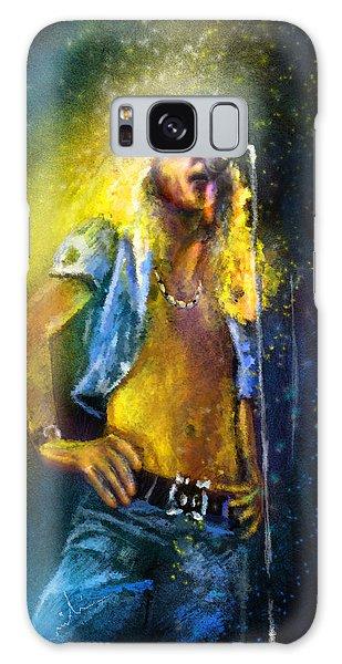 Robert Plant 01 Galaxy Case by Miki De Goodaboom