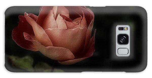 Romantic November Rose Galaxy Case