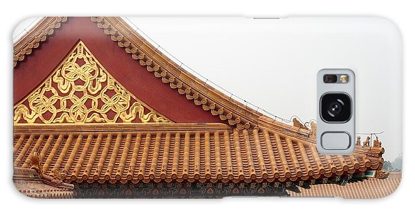 Roof Forbidden City Beijing China Galaxy Case