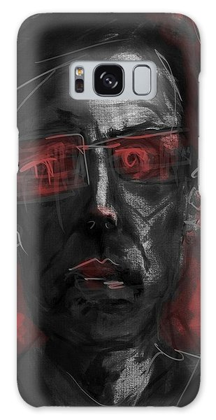 Rose Colored Glasses Galaxy Case by Jim Vance