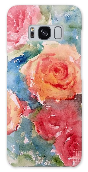 Roses Galaxy Case by Trilby Cole
