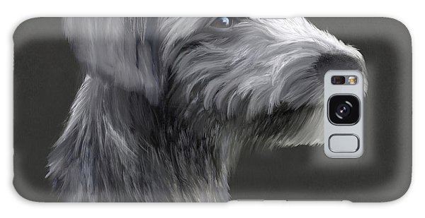 Sighthound Galaxy Case - Rough Coated Lurcher  by John Edwards