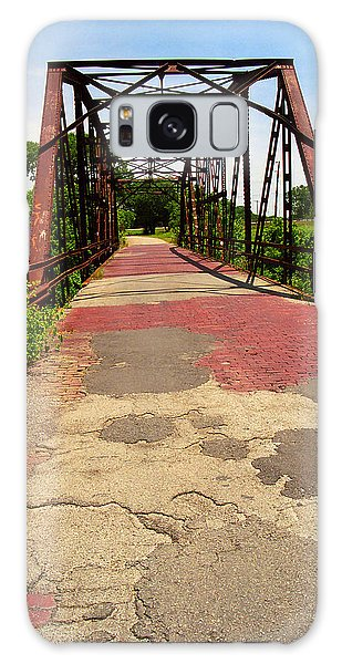 Route 66 - One Lane Bridge Galaxy Case
