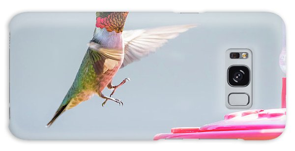 Galaxy Case featuring the photograph Ruby-throated Hummingbird  by Ricky L Jones