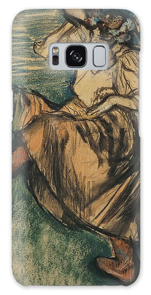 Russian Impressionism Galaxy Case - Russian Dancer by Edgar Degas