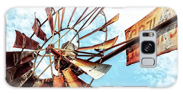 Rusted Windmill Galaxy Case