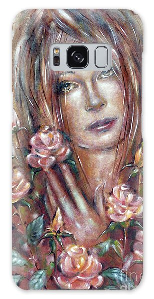Sad Venus In A Rose Garden 060609 Galaxy Case