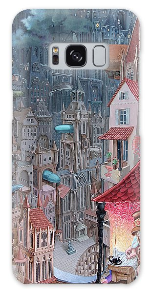 Saga Of The City Of Zeppelins Galaxy Case