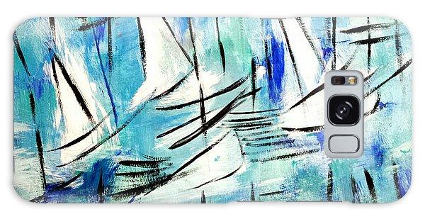 Sailing Blue Galaxy Case
