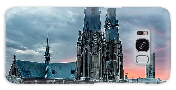 Saint Catherina Church In Eindhoven Galaxy Case by Semmick Photo