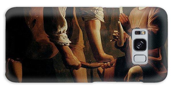Saint Joseph The Carpenter  Galaxy Case