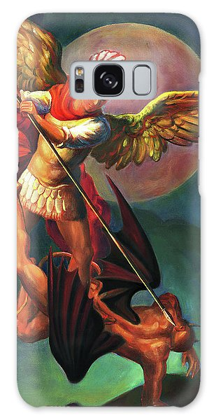 Galaxy Case - Saint Michael The Warrior Archangel by Svitozar Nenyuk