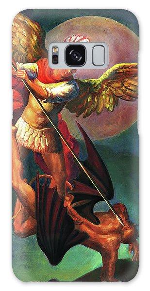 Galaxy Case - Saint Michael The Warrior Archangel by Svitozar Nenyuk