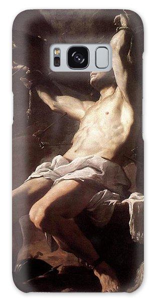 Saint Sebastian By Mattia Preti Galaxy Case
