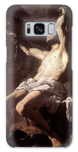 Saint Sebastian By Mattia Preti Galaxy Case