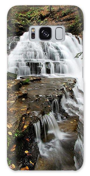 Salt Springs Waterfall Galaxy Case