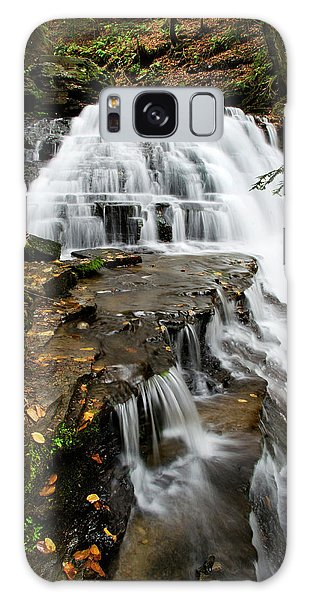 Galaxy Case featuring the photograph Salt Springs Waterfall by Christina Rollo