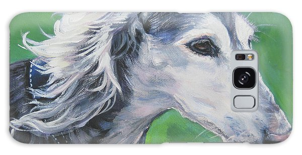 Sighthound Galaxy Case - Saluki by Lee Ann Shepard