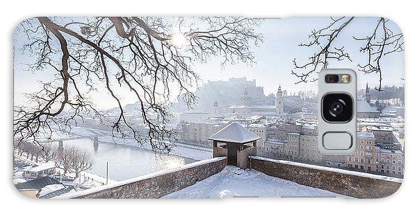 Salzburg Winter Dreams Galaxy Case by JR Photography