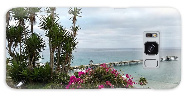 San Clemente Pier Galaxy Case