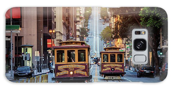 San Francisco Cable Cars Galaxy Case by JR Photography