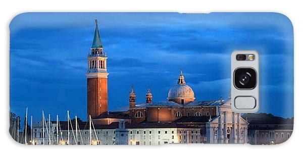 Galaxy Case featuring the photograph San Giorgio Maggiore Church Night by Songquan Deng