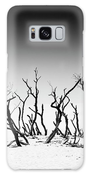 Sand Dune With Dead Trees Galaxy Case by Chevy Fleet
