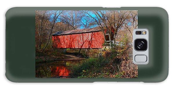 Sandy /creek Covered Bridge, Missouri Galaxy Case