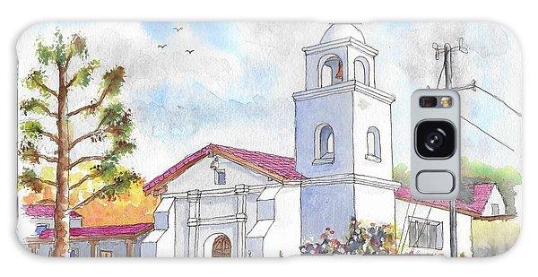 Santa Cruz Mission, Santa Cruz, California Galaxy Case