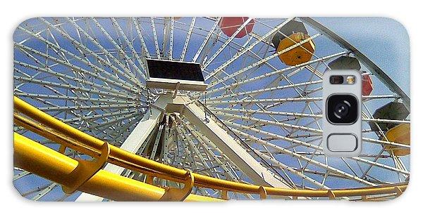 Santa Monica Pier Amusement Park Galaxy Case
