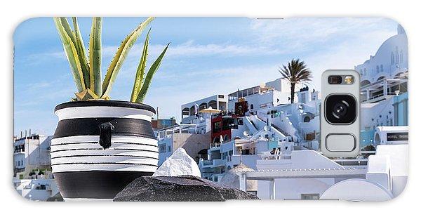 Santorini - Greece Galaxy Case