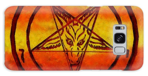 Anubis Galaxy Case - Satanism by Esoterica Art Agency