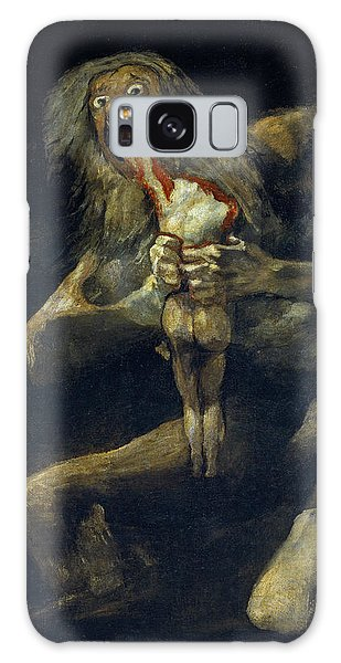 Saturn Devouring His Son Galaxy Case