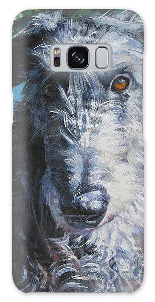 Sighthound Galaxy Case - Scottish Deerhound by Lee Ann Shepard