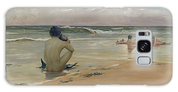 Newts Galaxy Case - Sea Idyll by Rupert Bunny