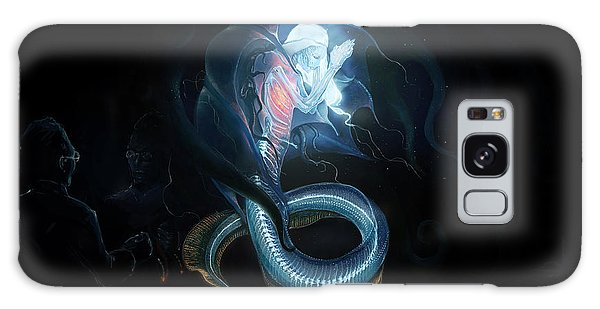 Planets Galaxy Case - Sea Monster by Emma Brown