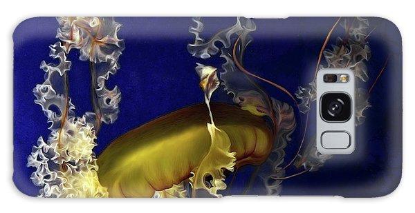 Sea Nettle Jellies Galaxy Case