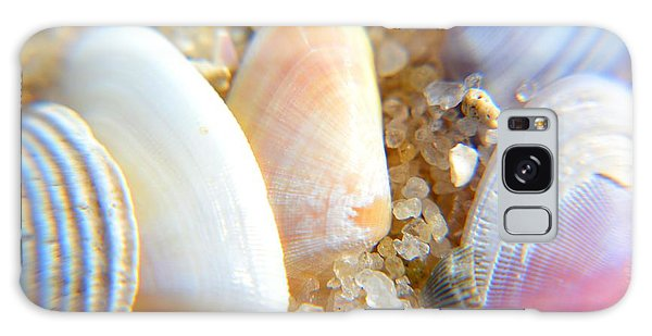 Seashells Galaxy Case by Janice Spivey