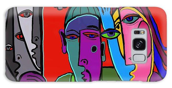 Selfie Galaxy Case by Hans Magden