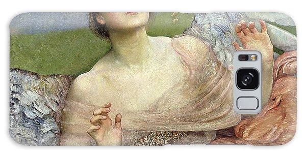Religious Galaxy Case - Sense Of Sight by Annie Louisa Swinnerton