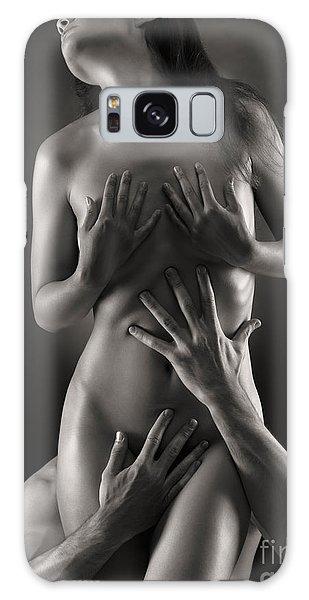 Sensual Photo Of Man And Woman Galaxy Case